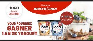 Concours Metro / Iögo Récolte Canadienne