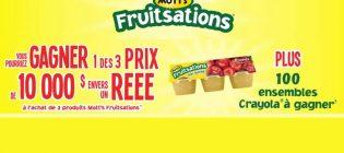 Concours Mott's Fruitsations REEE