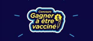 Concours Gagner à être vacciné au Québec
