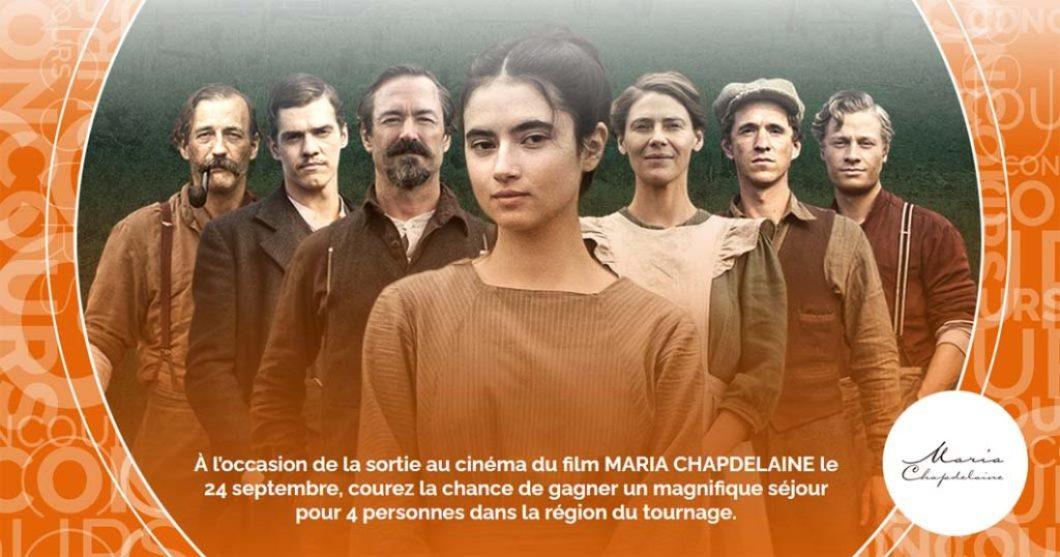Concours SB Privilèges Sur les traces de Maria Chapdelaine