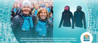 Concours Défi Pierre Lavoie Le Grand marcheur