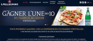 Concours Dine at Home de S. Pellegrino
