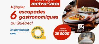 Concours Metro Grand évènement metro&moi